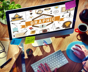 Graphic Creative Design Digital Illustrative Visual Concept