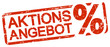 red stamp with text Aktionsangebot