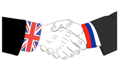 The friendship between United Kingdom and Russia