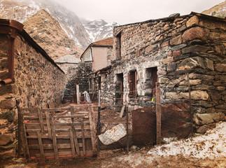 tourist village Stepantsminda