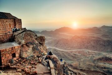 Mount Sinai at dawn