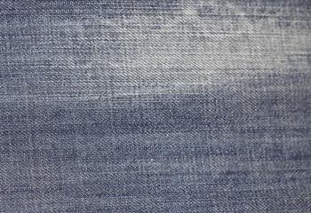 Jeans texture background fabric of blue denim textile