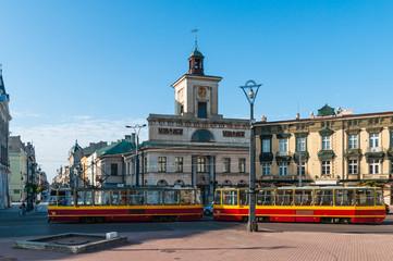 Łódź - Plac Wolności; Polen