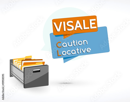 Visale caution locative stockfotos und lizenzfreie vektoren auf - Retenue de caution locative ...