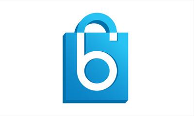 Shopping leter B logo