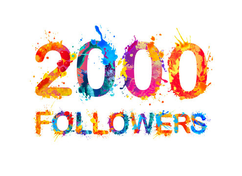 2000 (two thousand) followers