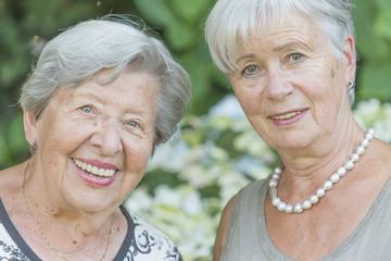Two Senior Ladies