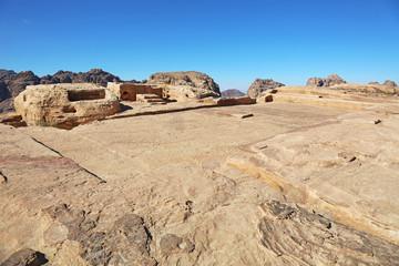 High Place of Sacrifice Petra Jordan