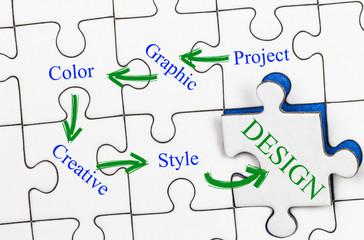 Design Concept on Puzzle