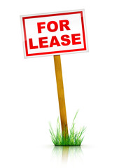 Sign - For Lease