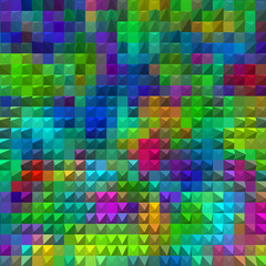 multi color mosaic background abstract pyramids
