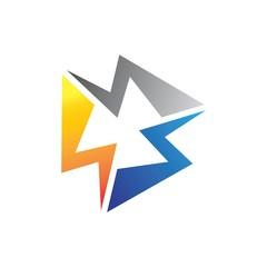 circle bolt logo