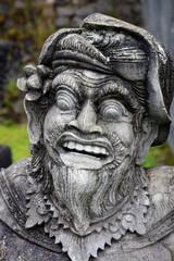 statue, temple, Bali, Indonésie