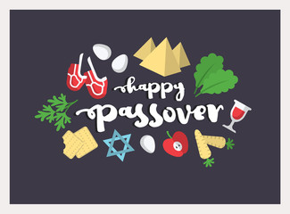Passover illustration. EPS 10