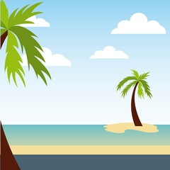 enjoy vacations travel isolated icon