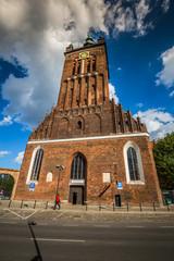Gdansk, Poland- September 19,2015:St. Catherine's Church (Koscio