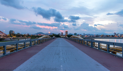Beautiful bridge (Tran Thi Ly Bridge) 2016.