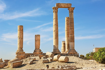 Temple of Hercules Amman Jordan