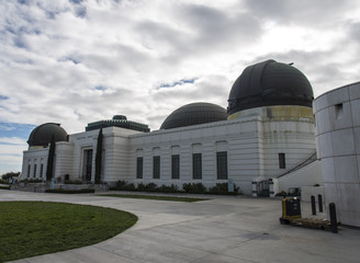 Griffith Observatory building in Los Angeles, USA
