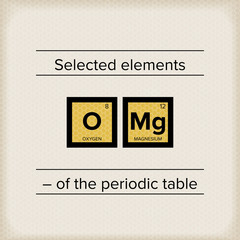 Periodic Table Statement OMG