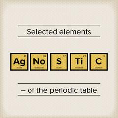 Periodic Table Statement Agnostic