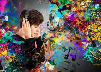 Colourful music passion