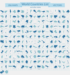 World Countries List Maps