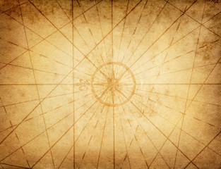 Nautical theme old grunge background.