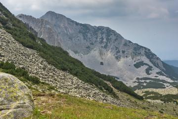 Amazing view of Cliffs of  Sinanitsa peak, Pirin Mountain, Bulgaria