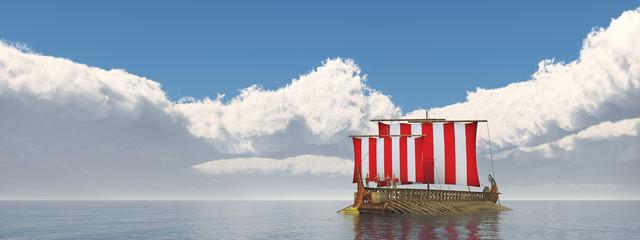 Kriegsschiff der griechischen Antike