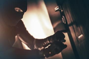 Caucasian House Burglar - fototapety na wymiar