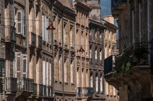 Maisons En Pierre De Bordeaux Photo Libre De Droits Sur