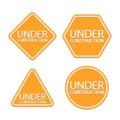 construction signs set 01