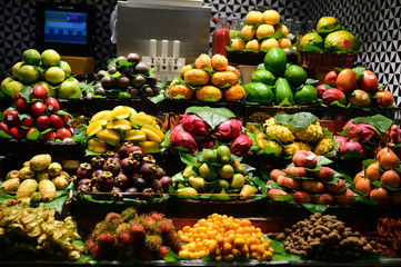 Fruits on market place