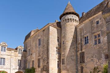 Le château de la Marthonye à Saint-Jean-de-Côle