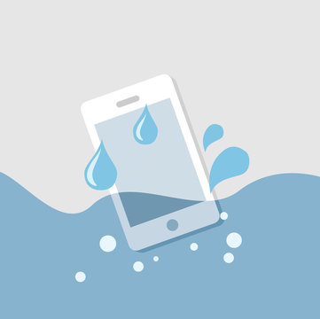 mobile in the water