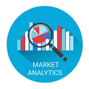Marketing Analytics Business Economy Icon