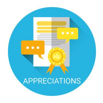 Appreciations Business Evaluation Icon