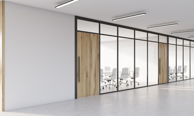 Two conference rooms