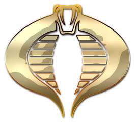 Cobra Naja Dourada