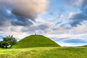 Fototapeta Krakus Mound in Cracow obraz
