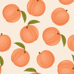 Pech seamless pattern