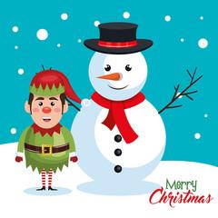 elf christmas character icon