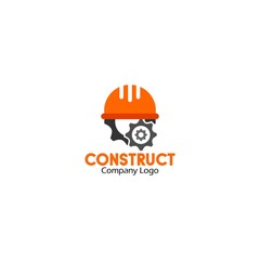 Building logo, construction working industry concept.- Vector illustration
