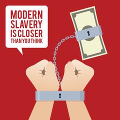 Anti Human Trafficking poster design template