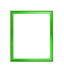 green color wooden photo frame background