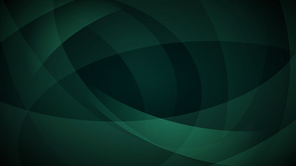 Dark green abstract background Wall mural
