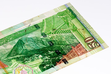 Currancy banknote of Asia