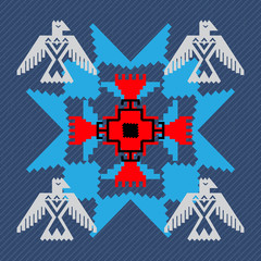Navajo style design