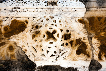 Ancient floral pattern from Ephesus